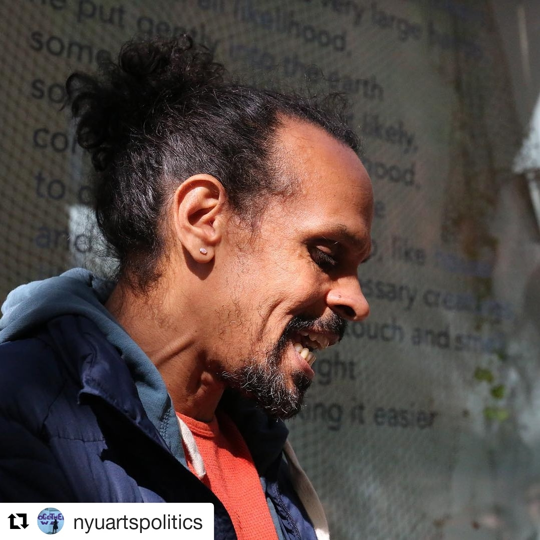 Ross Gay Pop-Up Reading at Kimmel Windows